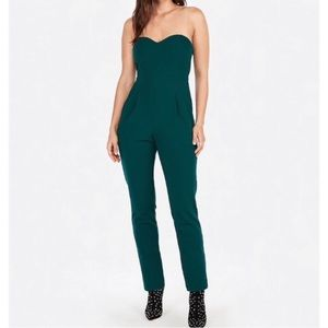 NWT Express Strapless Jumpsuit